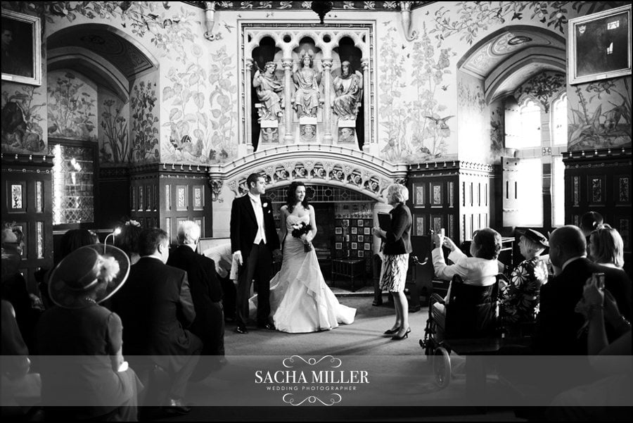 Wedding Photography at Castell Coch