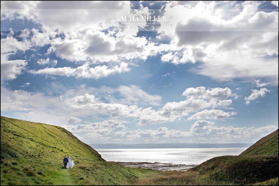 Wedding Photography at Nash Point Lighthouse