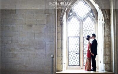 Anastasia & Lawrence – Engagement shoot at St. Donat's Castle, Wales