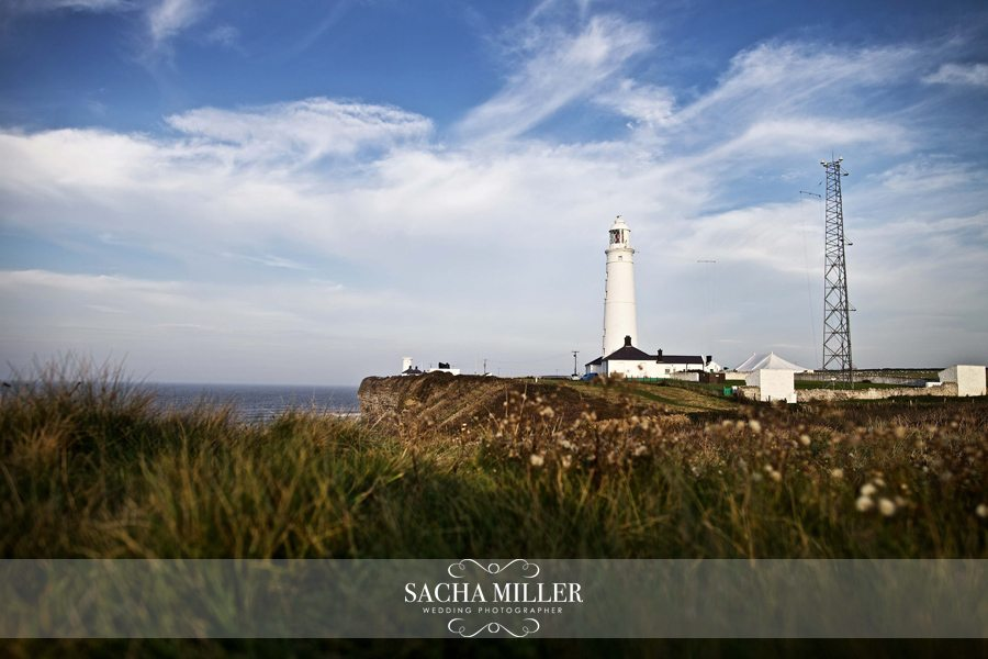Krissie & Karl – Wedding Photographer at Nash Point Lighthouse, South Wales
