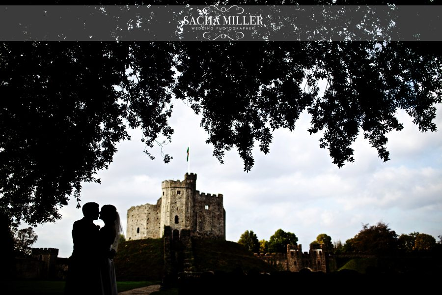 Claudine & James – Cardiff Castle Wedding Photographer