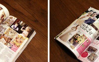 Leona & Lee in Perfect Wedding Magazine