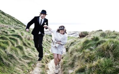Ellen & Wojciech – Nash Point Lighthouse Wedding Photographer