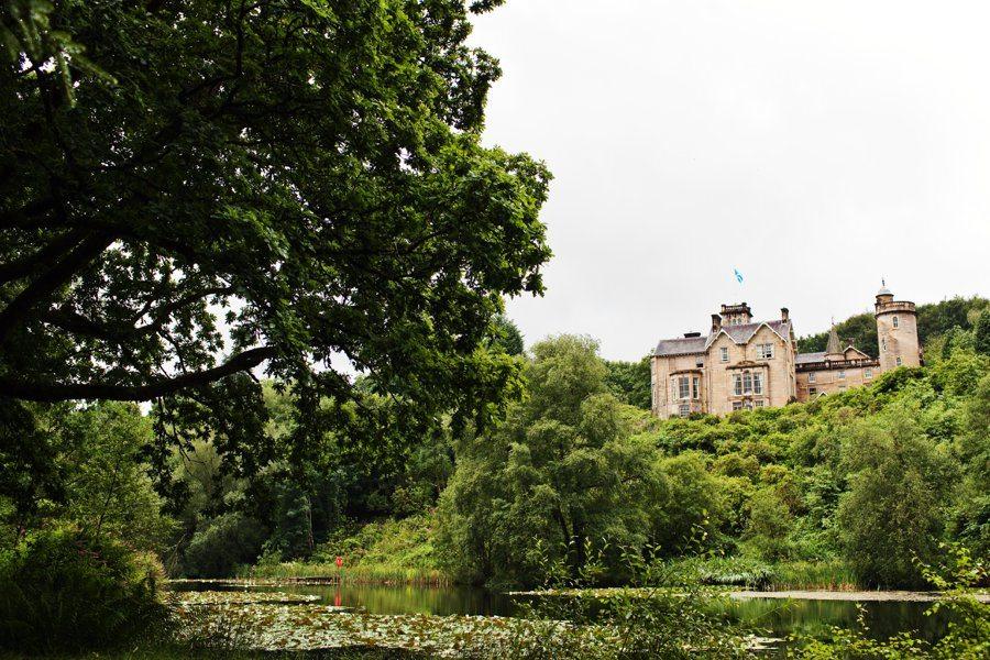 Auchen Castle in Scotland