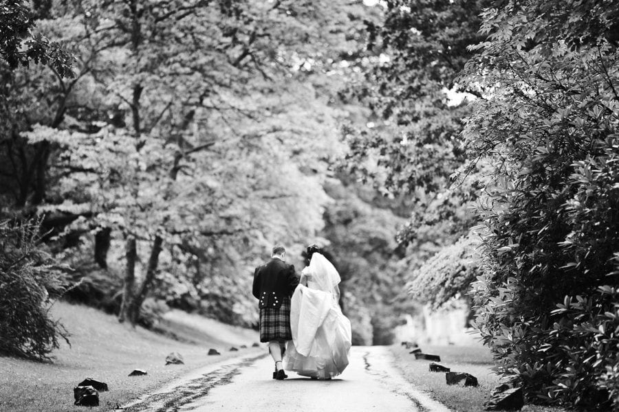 Auchen Castle Wedding – Amy & Damien
