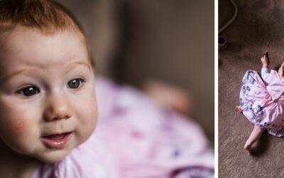 Baby Portrait Photographs, South Wales – Ellie