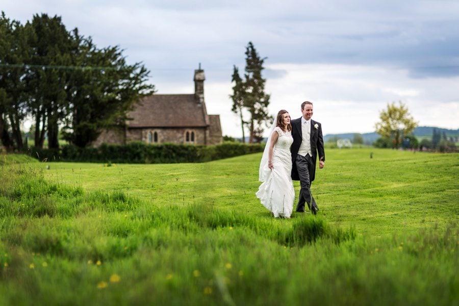 Llansantffraed Court Wedding – Clare & Tom