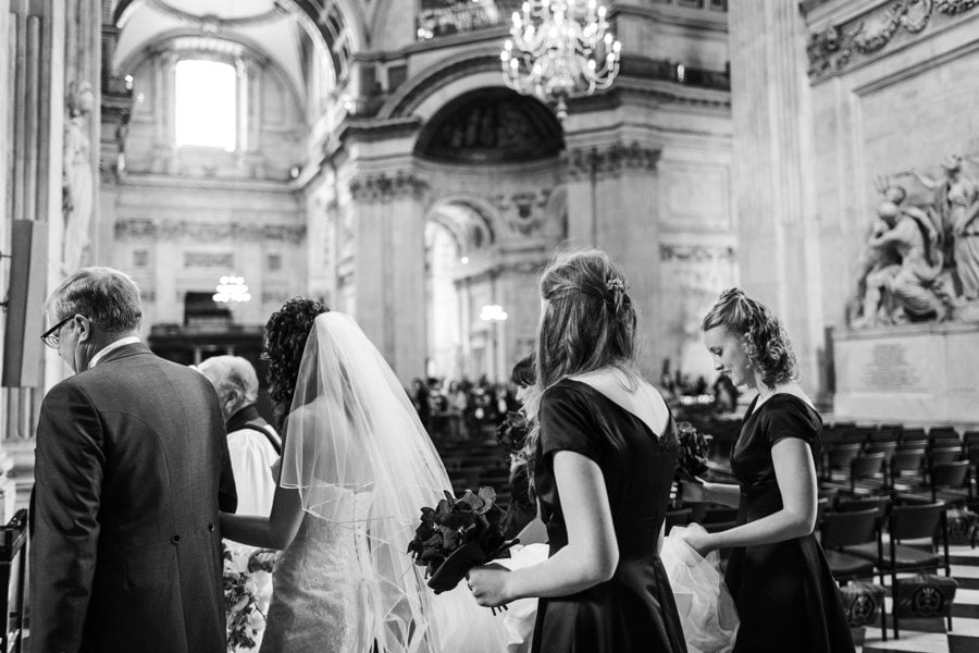 St Pauls Cathedral Wedding 014