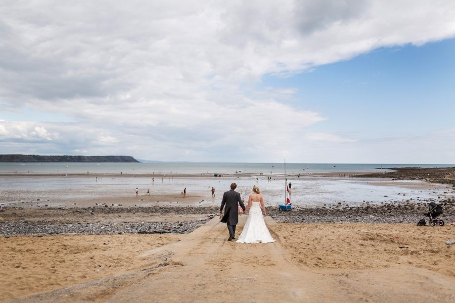 Oxwich Bay Hotel Wedding, Gower, South Wales – Karen & Mark