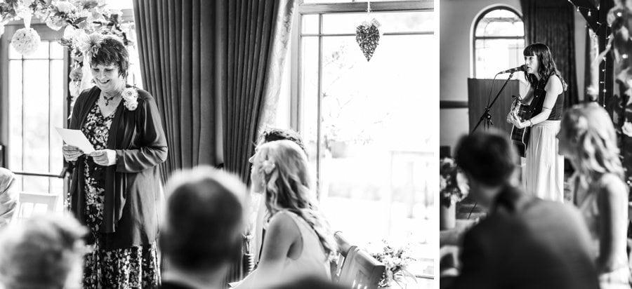 King Arthur Hotel wedding ceremony