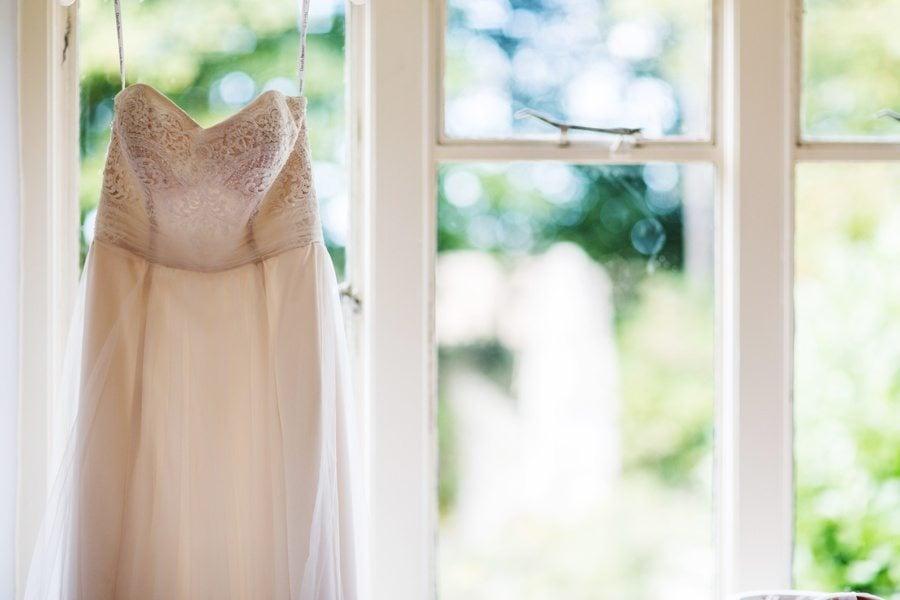 bridal preparations for a Cripps Barn Wedding