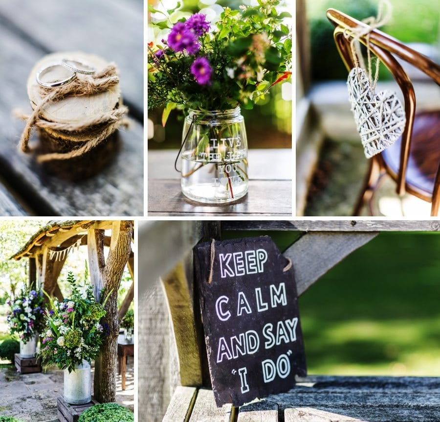 wedding details Cripps Barn Wedding