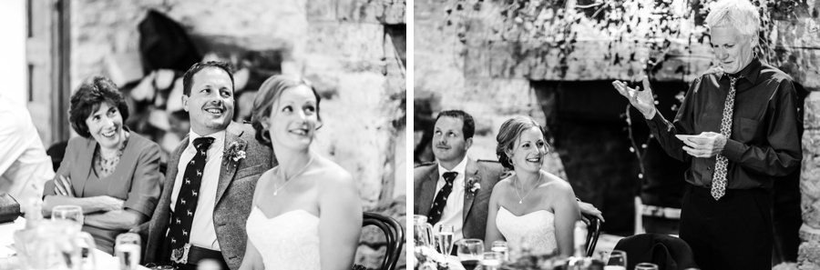 Speeches at a Cripps Barn Wedding