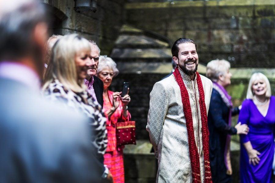Hindu wedding ceremony at Cardiff Castle