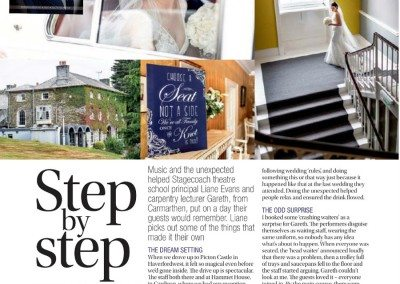 WM Magazine Wedding Photography Feature