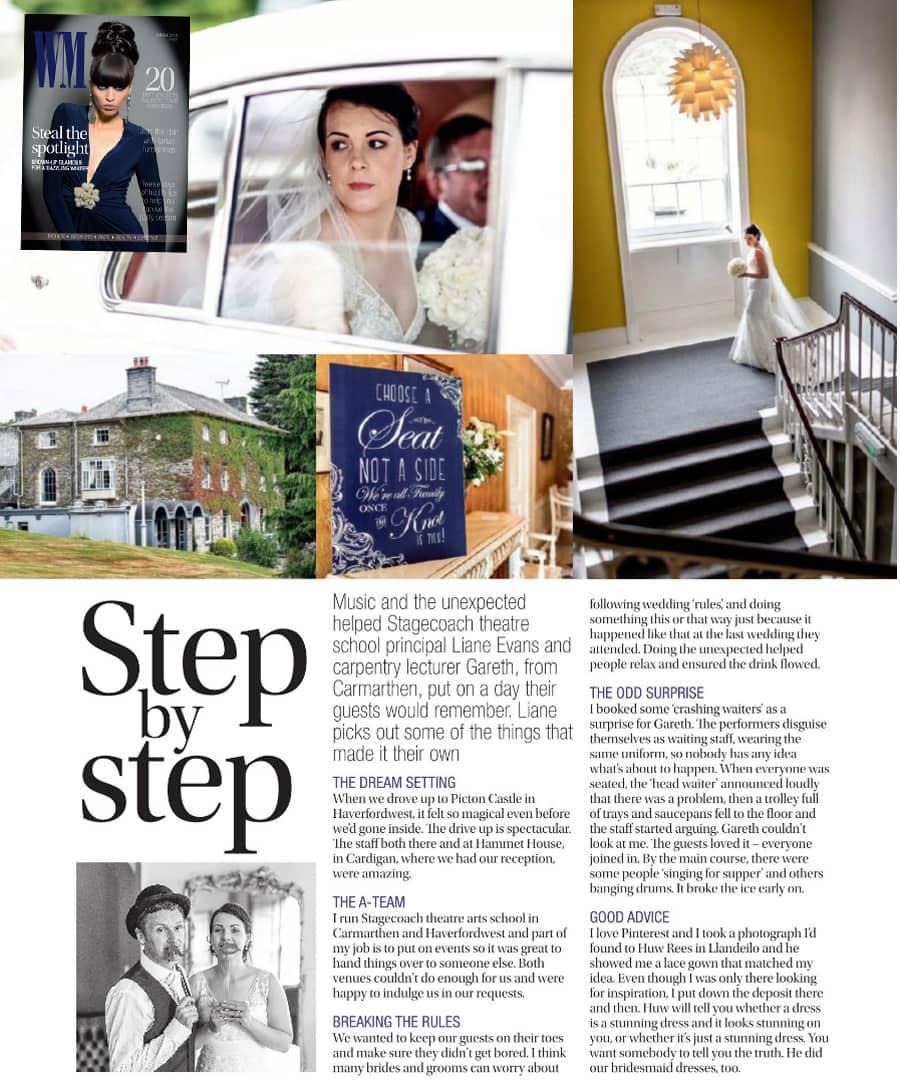 wales wedding magazine article