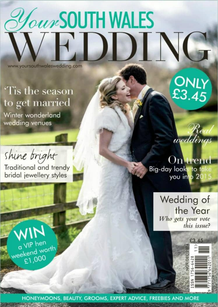 Your South Wales Wedding Magazine Cover