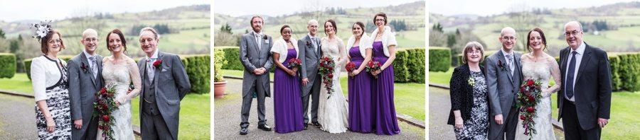 wedding celebrations  at Buckland Hall