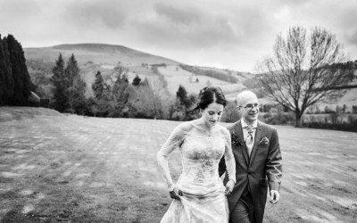 Christmas Wedding at Buckland Hall – Helen & Michael