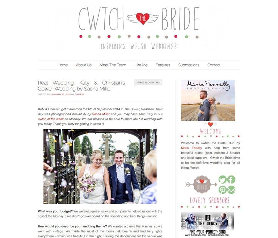 welsh wedding blog feature