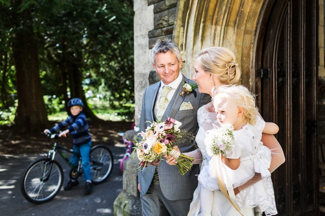 wedding photography at holm house hotel in penarth