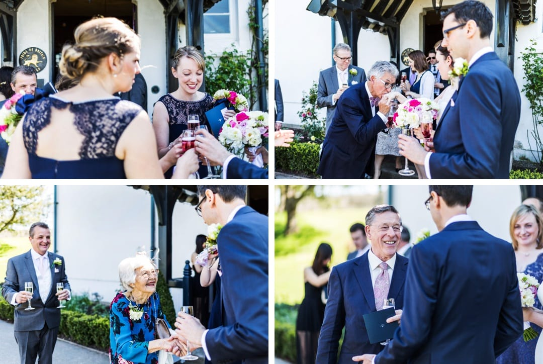 Wedding photography at The Grove in Narbeth