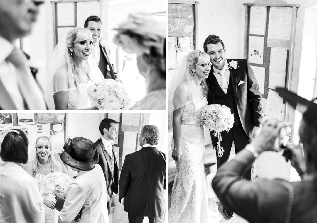 wedding ceremony at church