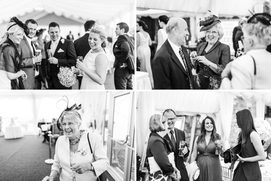 wedding reception at ocean view windmill