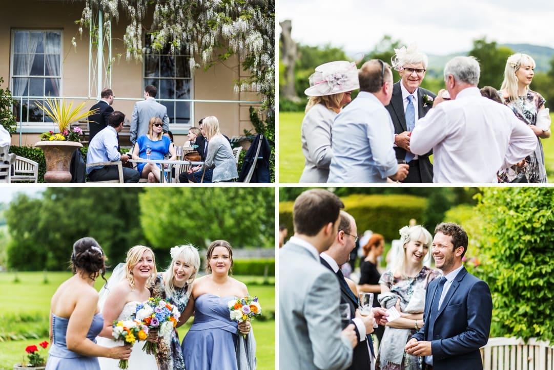 wedding reception at porthmawr country house