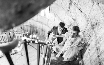 Nashpoint Lighthouse & Tepee Wedding in South Wales