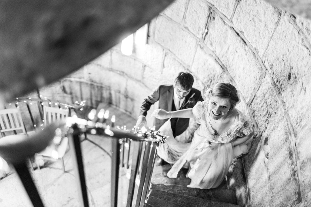 wedding ceremony at nash point lighthouse