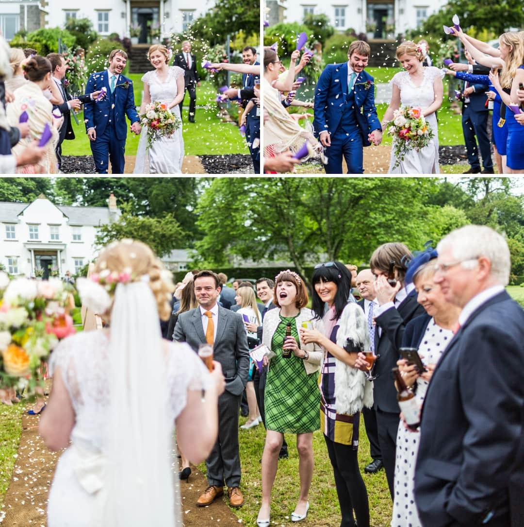 tepee wedding in south wales