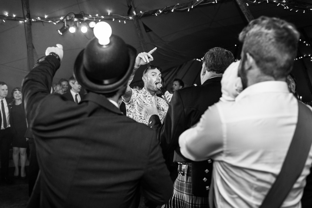 danicng tepee wedding in south wales