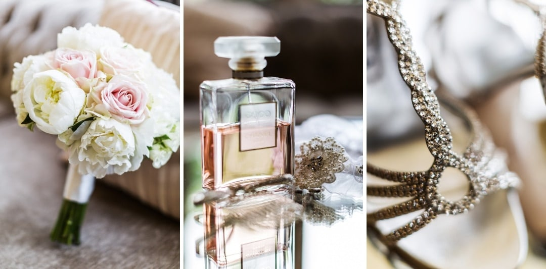 wedding details at coombe lodge