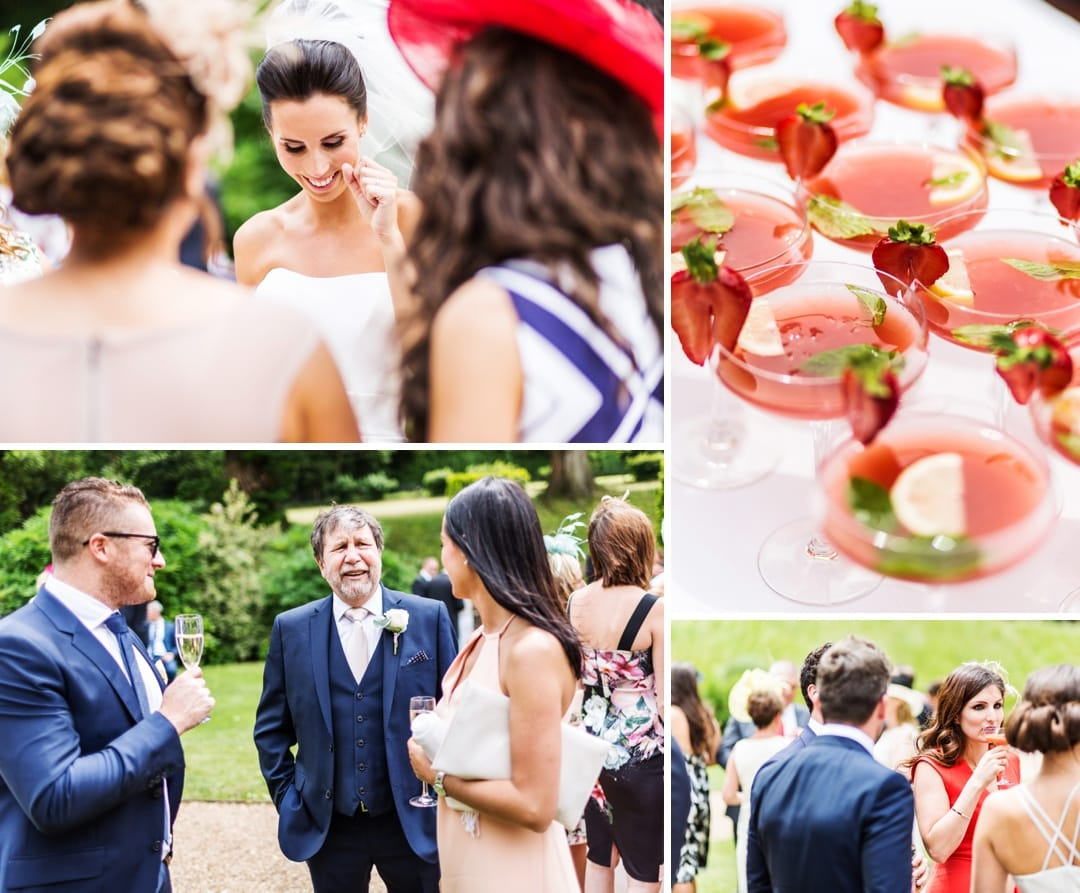 wedding reception at coombe lodge