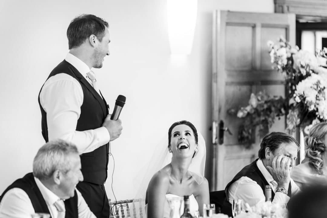 wedding speeches at coombe lodge