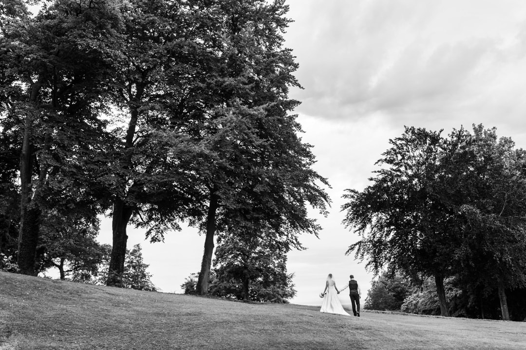 wedding portraits at coombe lodge