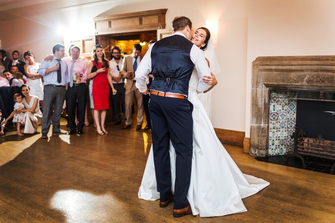 wedding dancing at coombe lodge
