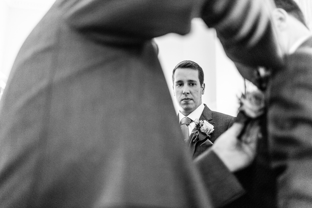 wedding at Parkfields Country House