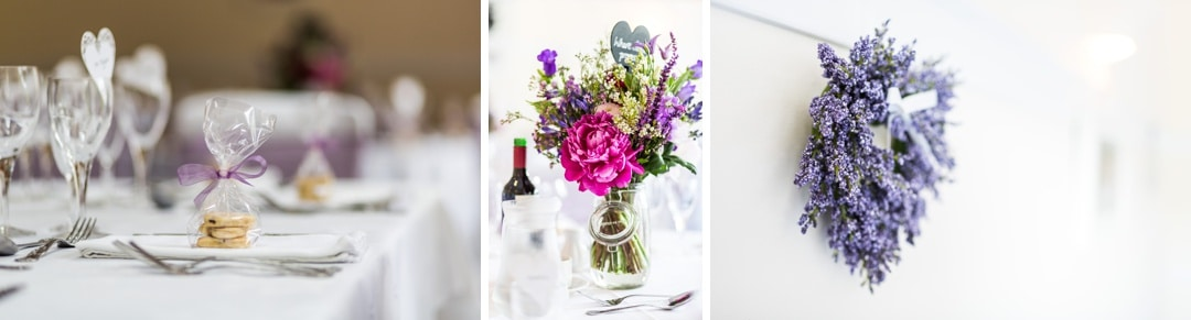wedding details at Parkfields Country House