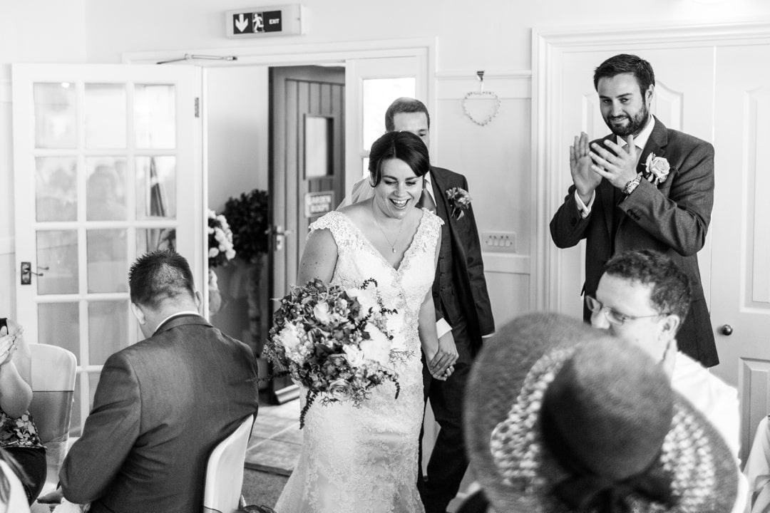 wedding speeches at Parkfields Country House