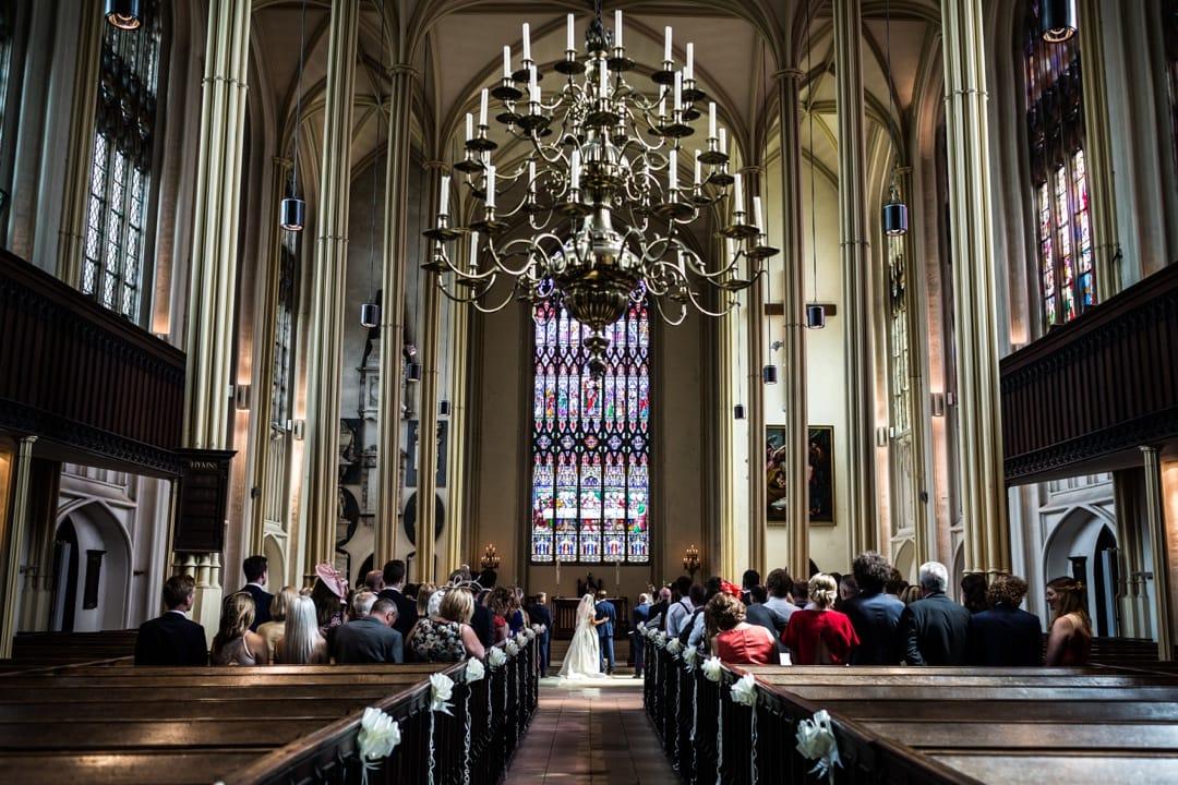 Tetbury Church marriage ceremony