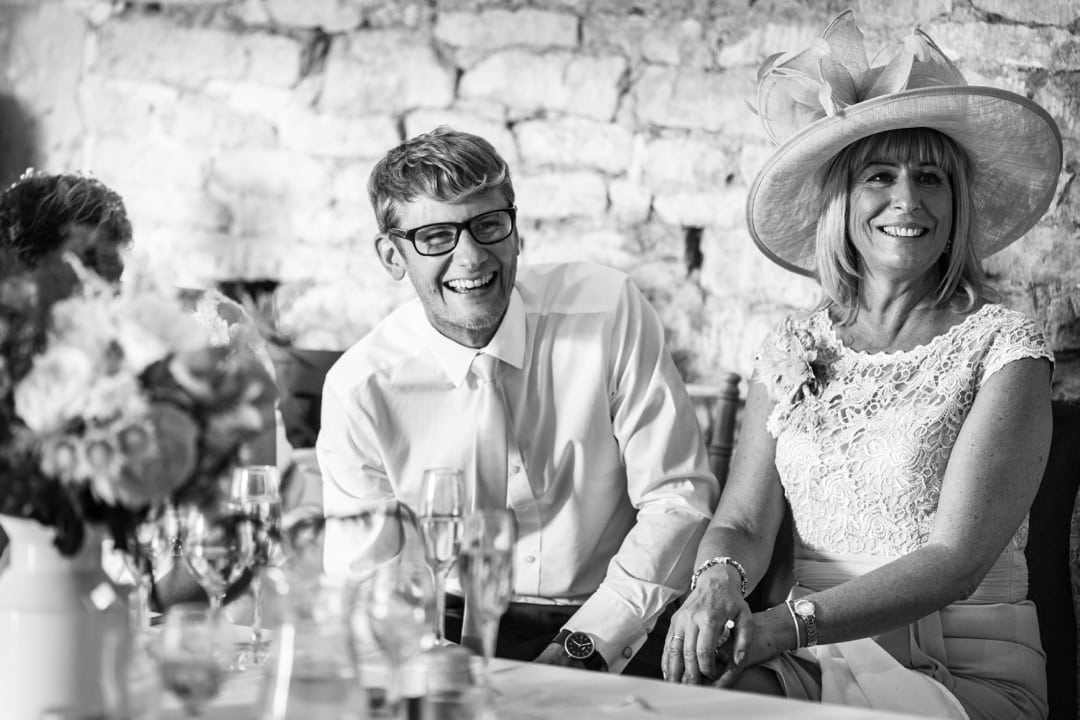 wedding day speeches at great tythe barn