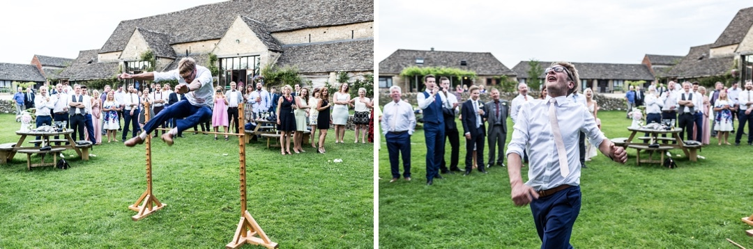 wedding high jump game