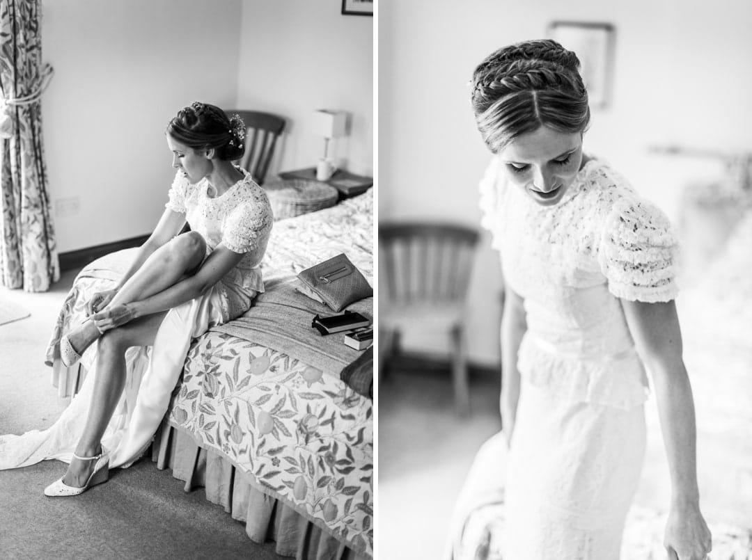 bridal preparations at south wales wedding