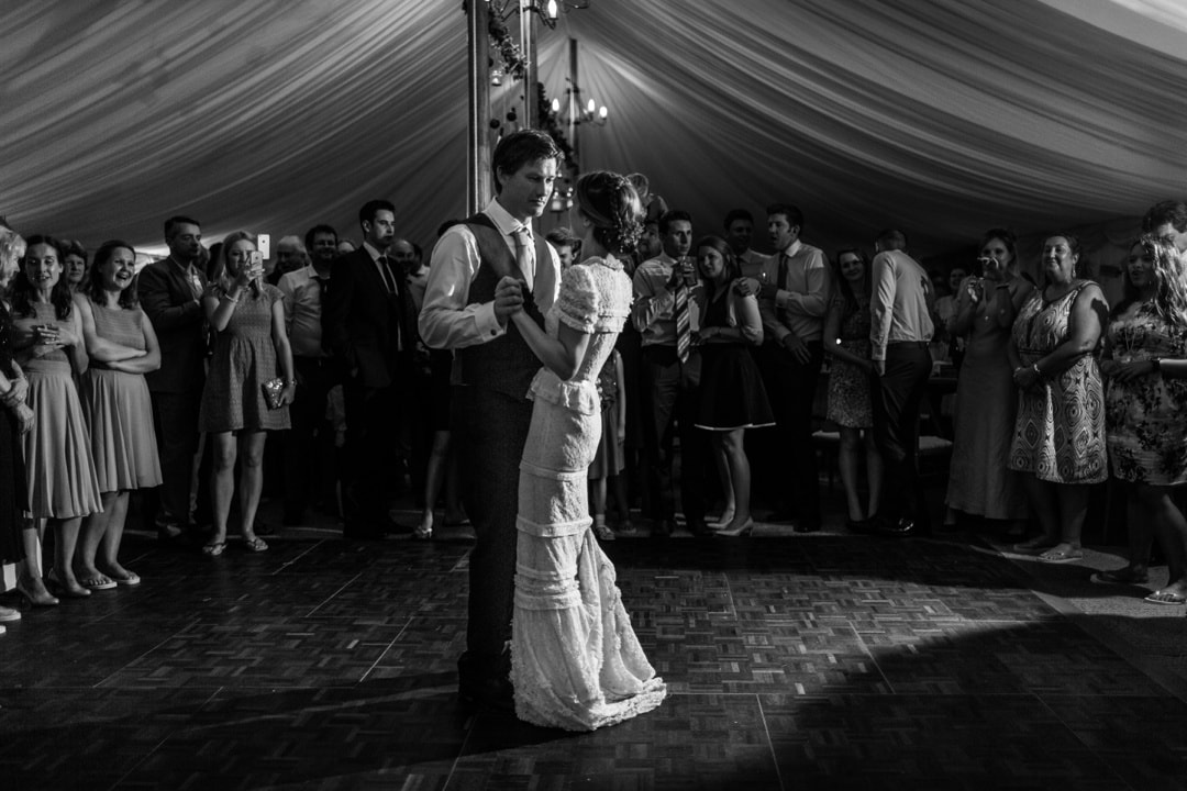 first dance at south wales wedding