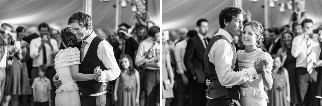 dancing at south wales wedding