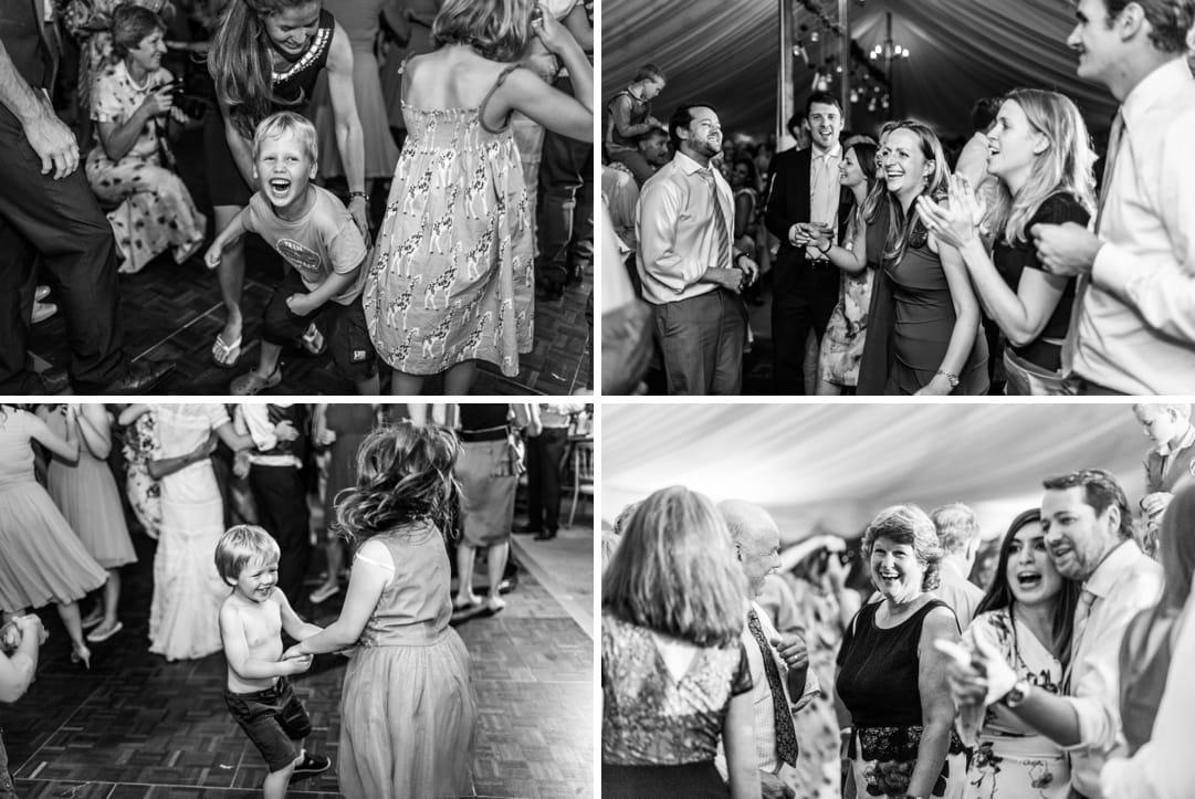 dancing at at south wales wedding
