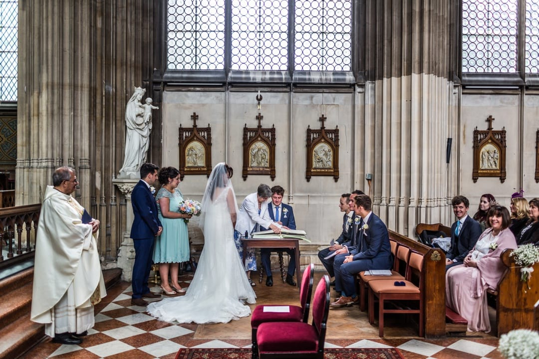 marriage ceremony at st michaels abbey