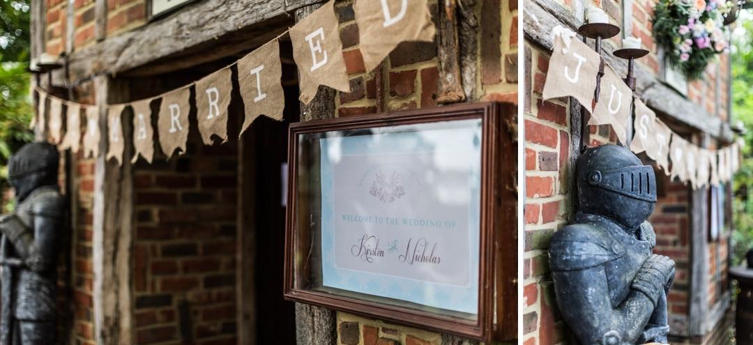 Meade Hall wedding reception